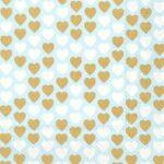lovely hearts blue