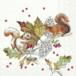 squirrels and berries