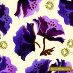 purple poppy cream