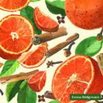 spiced oranges